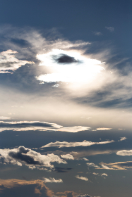 free photo of sun   clouds
