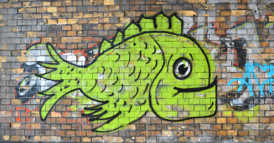 bricks,  street,  art,  paint,  airbrushed,  fish,  city,  building,  urban,  artist,  wall,  exterior,  painting,  graffiti,  mural,  outdoor