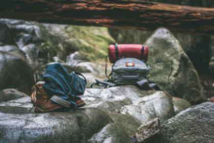 free photo of rocks  bag