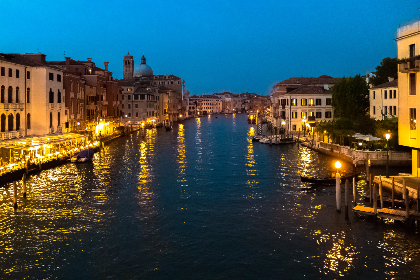 venice,  italy,  lights,  canal,  amazing,  view