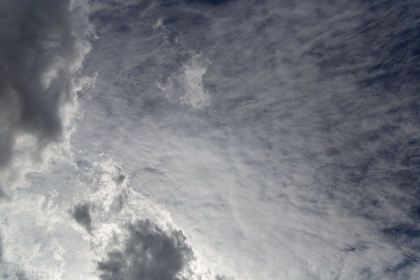 free photo of 	contrast    clouds