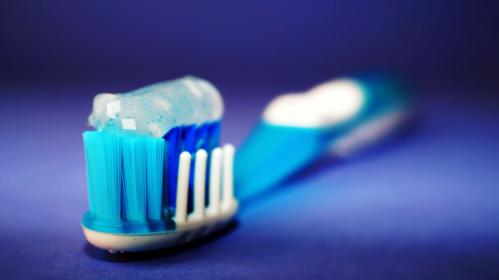 toothbrush, toothpaste, hygiene, blue, strand, gel, menthol, mint