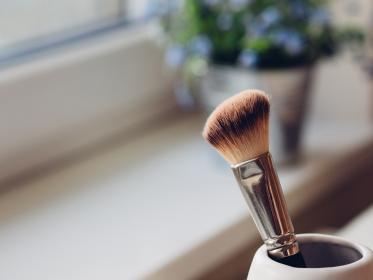 makeup, brush, objects