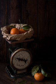 vintage,  scale,  fruit,  oranges,  weight,  kilogram,  grams,  pounds,  food,  paper bag