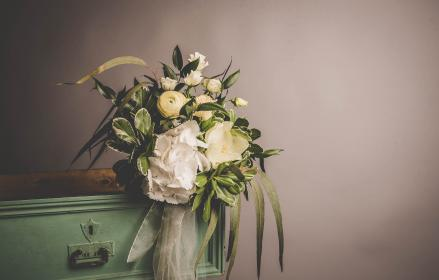 flowers, bouquet, bunch, furniture