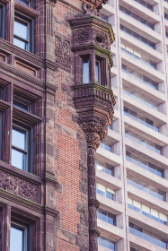 ornate,  facade,  city,  building,  brick,  exterior,  windows,  design,  art,  architecture,  tall,  wall,  apartment,  business