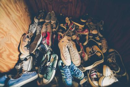 shoes, chucks, sneakers, converse, feet, collection, checkered, running shoes, sole, laces