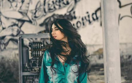 wall, art, mural, painting, graffiti, people, woman, hairstyle, makeup, beauty, girl