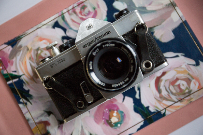 camera,  top,  view,  flat lay,  vintage,  film,  35mm,  old,  retro,  analog,  photography,  front,  lens,  antique,  art,  object