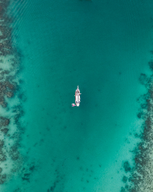 drone,  boat,  tropical,  sea,  ocean,  water,  green,  blue,  ship,  travel,  summer