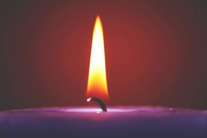 candle, light, fire, flame, dark, night