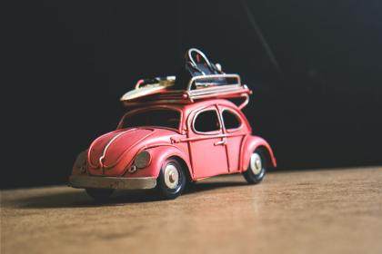 crafts, hobby, miniature, cars, still, items, things, toys, model, scale, wood, table, desk, bokeh
