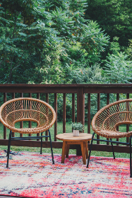 patio,   furniture,   deck,   table,   plant,   chair,   backyard,   porch,   outdoor,   house,   design,   contemporary,   seating,   summer,   wooden