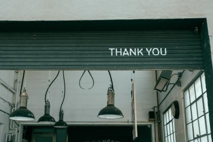 writings, graffiti, spray, paint, thank you, lamps, lights, workshop, studio, overhead, door, whitewashed, panels, walls, windows, shop
