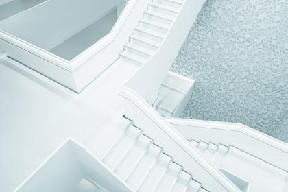 architecture, white, building, infrastructure, stairs, stairway