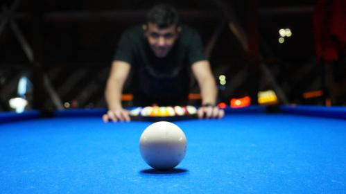 people, man, playing, billiards, bokeh, pool, game, sport