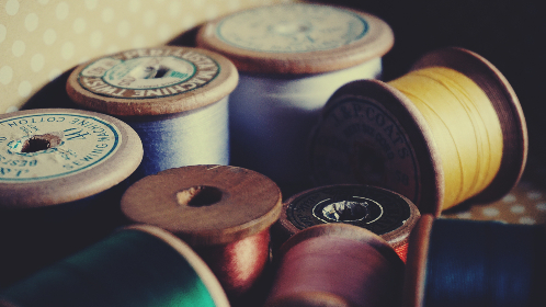 free photo of cotton reels   sewing