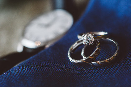 wedding, rings, bokeh, marriage, love, happiness, proposal, jewelry, diamond, watch