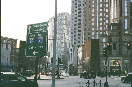 free photo of downtown   street