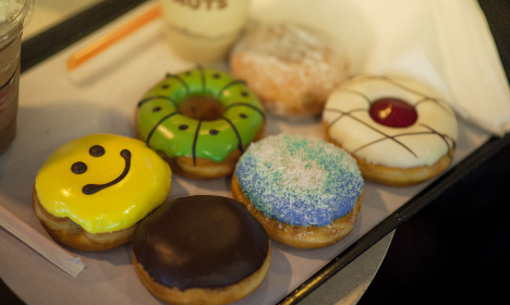 donuts,   assorted,   bakery,   happy,   smile,   chocolate,   cream,   dessert,   food,   pastry,  doughnuts