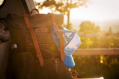 backpacking,  trip,  nature,  sun,  golden,  backpack,  travel,  bag,  hat,  hiking,  hipster,  flare,  outdoor,  activity