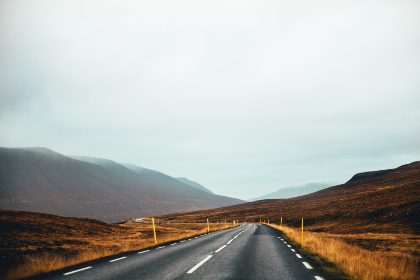 rural,  road,  hills,  mountains,  sky,  outdoors,  travel,  driving,  pavement,  asphalt,  tundra,  grass,  clouds,  journey