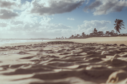 beach,   clouds,   sky,   travel,   vacation,   holiday,   island,   landscape,   nature,   ocean,   palm tree,   sand,   sea,   seascape,   summer,   sun,   sunset,   water,   waves