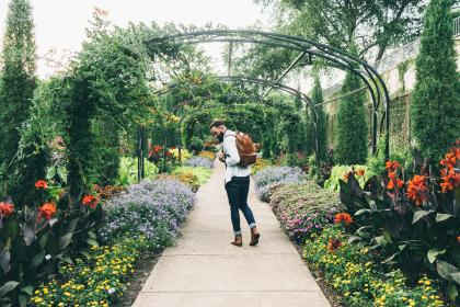 people, man, beard, fashion, alone, boots, garden, plants, flowers, trees, leaves, blossom, fall, autumn, green