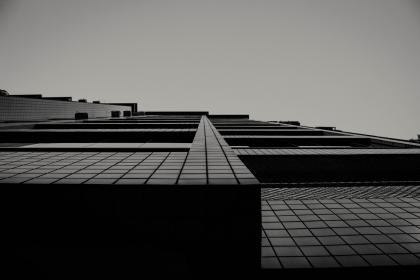 art, structure, squares, lines, modern, black and white, grayscale