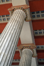 columns,  design,  ornate,  angle,  ceiling,  room,  elegant,  decorative,  support,  column,  architecture, history