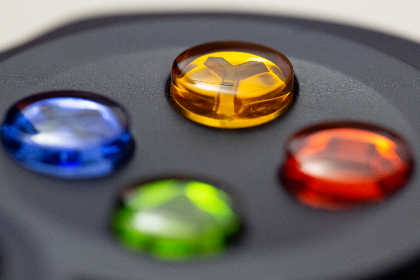 game,  controller,  buttons,  shiny,  colorful,  plastic,  fun,  play,  entertainment,  enjoyment, macro