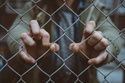 people, hand, fence, fence, outdoor