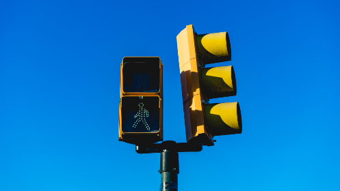 traffic,  light,  signal,  pedestrian,  walking,  crossing,  isolated,  sign,  signage,  blue,  sky,  city,  curb,  street