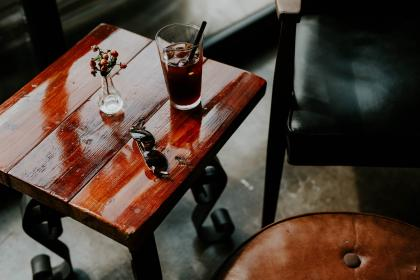 free photo of wooden  table