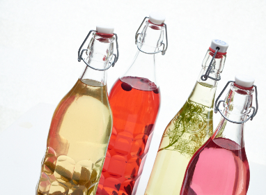free photo of 	colored    bottles