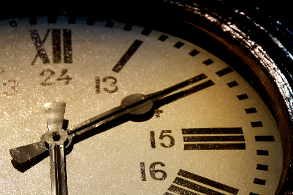 old,  clock,  roman,  numerals,  24 hour,  minute,  time,  vintage,  rustic,  close up