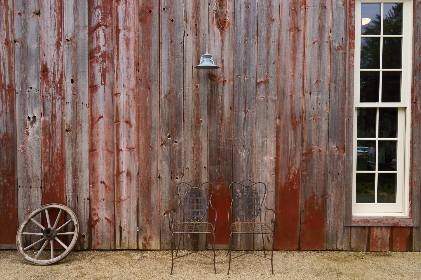 rustic,  barn,   Building,   Chairs,   Old,   Scene,   Wagon,   Wheel,   Window,  boards,  antique,  weathered,  vintage,  steel