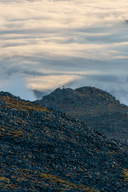 rocky,  mountain,  view,  peak,  hike,  land,  clouds,  terrain,  rough,  nature,  landscape,  sky,  summit,  outdoors