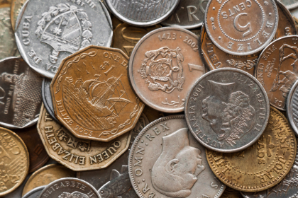 coins, cash, currency, money, cents, finance, accounting