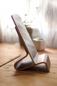 ipad, tablet, stand, wood, technology, office, business, desk