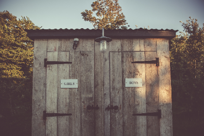 free photo of outdoor toilet   cabin