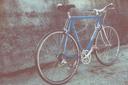 bike, bicycle, wheels, ride, pedals, blue