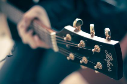 electric guitar, music, musician, band, audio, strings, instrument