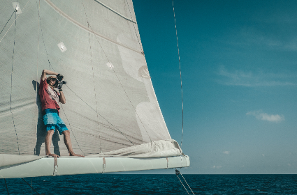 travel,  yacht,  photographer,  sea,  sail, blue, sky, sea, ocean, water, adventure