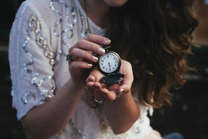 people, woman, time, clock, watch, hands, manicure, nails