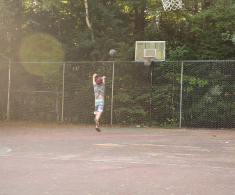 basketball,  game,  outdoors,  boy,  playing,  court,  ball,  hoop,  activity,  fun,  person,  sport, exercise