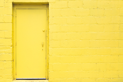 yellow,  door,  wall,  brick,  backgrounds,  texture,  urban,  building,  entrance,  industry,  exterior,  architecture,  doorway,  entry,  industrial,  structure,  property