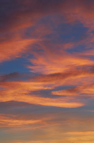 sunset,  pink,  sky,  clouds,  blue,  orange,  dusk,  dawn,  light,  pastel,  evening,  climate,  nature,  abstract,  background,  natural,  horizon