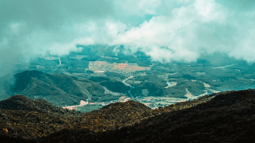 free photo of aerial    landscape