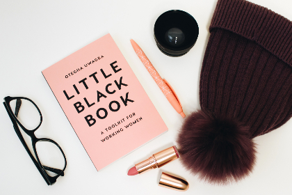 free photo of little black book   pink